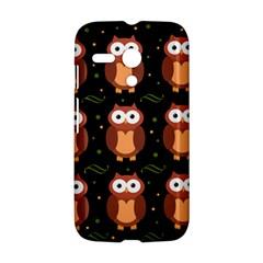 Halloween brown owls  Motorola Moto G