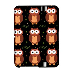 Halloween brown owls  Amazon Kindle Fire (2012) Hardshell Case