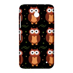 Halloween brown owls  Nokia Lumia 630