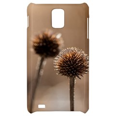 Withered Globe Thistle In Autumn Macro Samsung Infuse 4G Hardshell Case