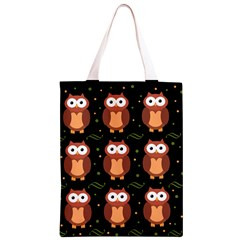 Halloween brown owls  Classic Light Tote Bag