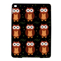 Halloween brown owls  iPad Air 2 Hardshell Cases