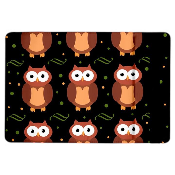 Halloween brown owls  iPad Air 2 Flip
