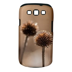 Withered Globe Thistle In Autumn Macro Samsung Galaxy S III Classic Hardshell Case (PC+Silicone)