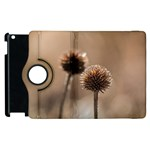 Withered Globe Thistle In Autumn Macro Apple iPad 2 Flip 360 Case Front