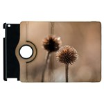 Withered Globe Thistle In Autumn Macro Apple iPad 3/4 Flip 360 Case Front