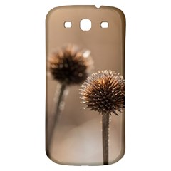 Withered Globe Thistle In Autumn Macro Samsung Galaxy S3 S III Classic Hardshell Back Case