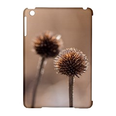 Withered Globe Thistle In Autumn Macro Apple iPad Mini Hardshell Case (Compatible with Smart Cover)