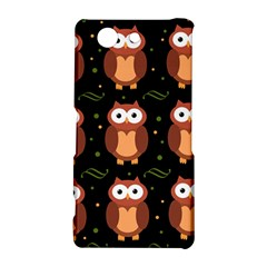 Halloween brown owls  Sony Xperia Z3 Compact