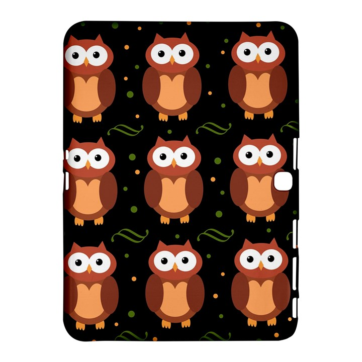 Halloween brown owls  Samsung Galaxy Tab 4 (10.1 ) Hardshell Case