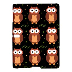 Halloween Brown Owls  Samsung Galaxy Tab S (10 5 ) Hardshell Case