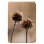 Withered Globe Thistle In Autumn Macro Flap Covers (S)  Front