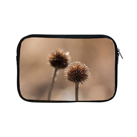 Withered Globe Thistle In Autumn Macro Apple iPad Mini Zipper Cases