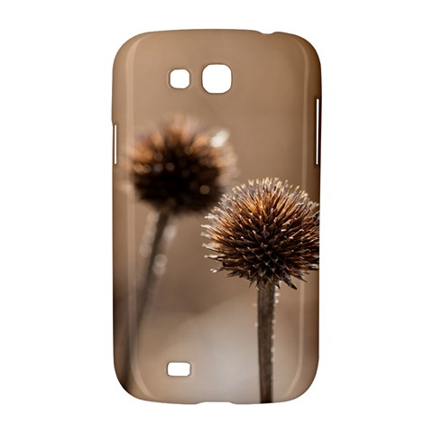 Withered Globe Thistle In Autumn Macro Samsung Galaxy Grand GT-I9128 Hardshell Case