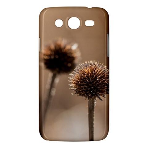 Withered Globe Thistle In Autumn Macro Samsung Galaxy Mega 5.8 I9152 Hardshell Case