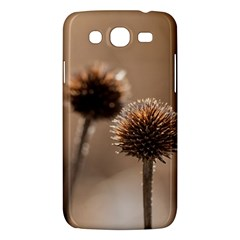 Withered Globe Thistle In Autumn Macro Samsung Galaxy Mega 5 8 I9152 Hardshell Case