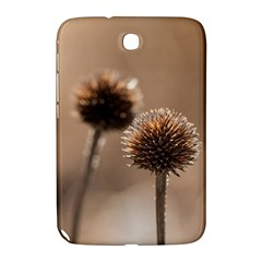 Withered Globe Thistle In Autumn Macro Samsung Galaxy Note 8 0 N5100 Hardshell Case