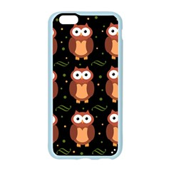 Halloween brown owls  Apple Seamless iPhone 6/6S Case (Color)
