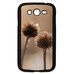 Withered Globe Thistle In Autumn Macro Samsung Galaxy Grand Duos I9082 Case (black)