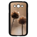 Withered Globe Thistle In Autumn Macro Samsung Galaxy Grand DUOS I9082 Case (Black) Front