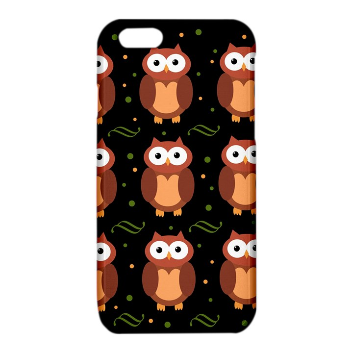 Halloween brown owls  iPhone 6/6S TPU Case