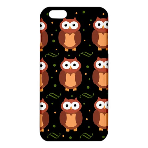 Halloween brown owls  iPhone 6 Plus/6S Plus TPU Case