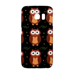 Halloween Brown Owls  Galaxy S6 Edge