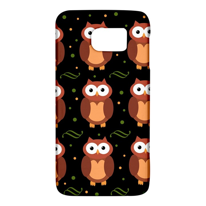 Halloween brown owls  Galaxy S6
