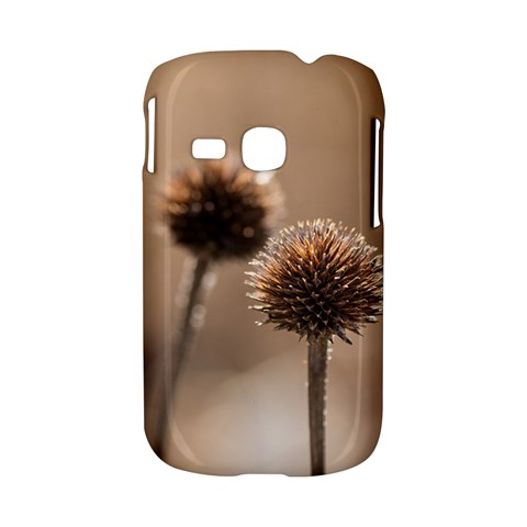 Withered Globe Thistle In Autumn Macro Samsung Galaxy S6310 Hardshell Case