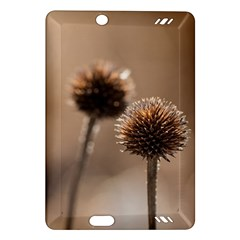 Withered Globe Thistle In Autumn Macro Amazon Kindle Fire Hd (2013) Hardshell Case