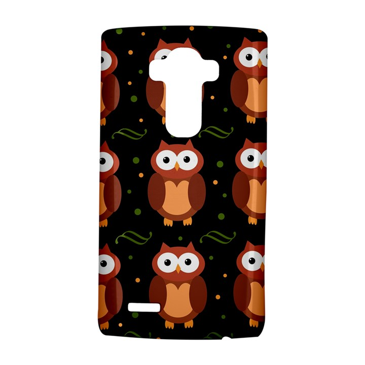 Halloween brown owls  LG G4 Hardshell Case