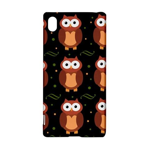 Halloween brown owls  Sony Xperia Z3+