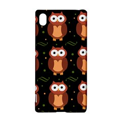 Halloween brown owls  Sony Xperia Z3+