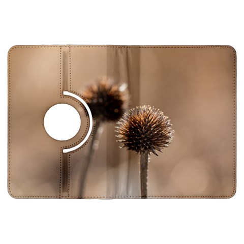 Withered Globe Thistle In Autumn Macro Kindle Fire HDX Flip 360 Case