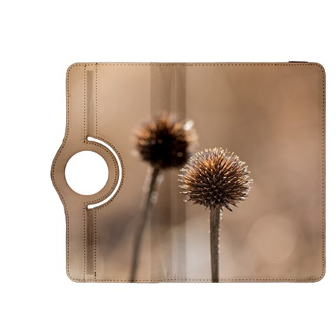 Withered Globe Thistle In Autumn Macro Kindle Fire HDX 8.9  Flip 360 Case