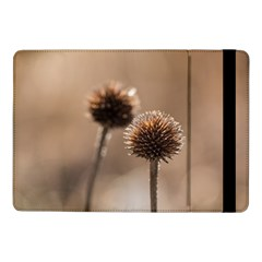 Withered Globe Thistle In Autumn Macro Samsung Galaxy Tab Pro 10 1  Flip Case