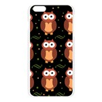 Halloween brown owls  Apple Seamless iPhone 6 Plus/6S Plus Case (Transparent) Front