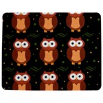 Halloween brown owls  Jigsaw Puzzle Photo Stand (Rectangular) Front