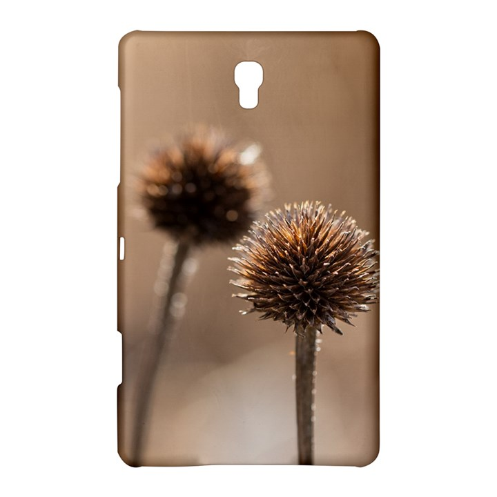 Withered Globe Thistle In Autumn Macro Samsung Galaxy Tab S (8.4 ) Hardshell Case