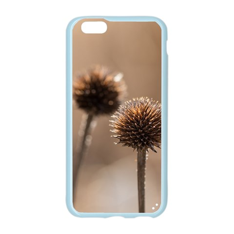 Withered Globe Thistle In Autumn Macro Apple Seamless iPhone 6/6S Case (Color)
