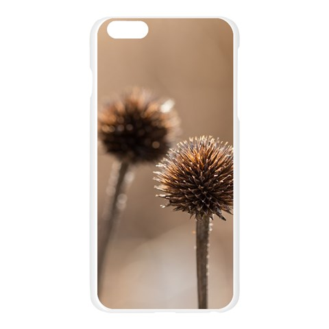 Withered Globe Thistle In Autumn Macro Apple Seamless iPhone 6 Plus/6S Plus Case (Transparent)