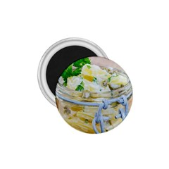 Potato salad in a jar on wooden 1.75  Magnets