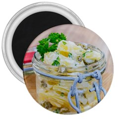 Potato salad in a jar on wooden 3  Magnets