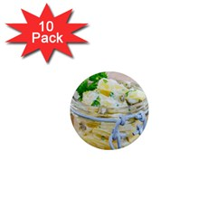 Potato Salad In A Jar On Wooden 1  Mini Magnet (10 Pack)