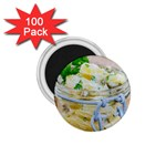 Potato salad in a jar on wooden 1.75  Magnets (100 pack)  Front
