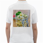 Potato salad in a jar on wooden Golf Shirts Back