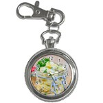 Potato salad in a jar on wooden Key Chain Watches Front
