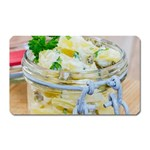 Potato salad in a jar on wooden Magnet (Rectangular) Front