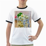 Potato salad in a jar on wooden Ringer T-Shirts Front