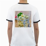 Potato salad in a jar on wooden Ringer T-Shirts Back